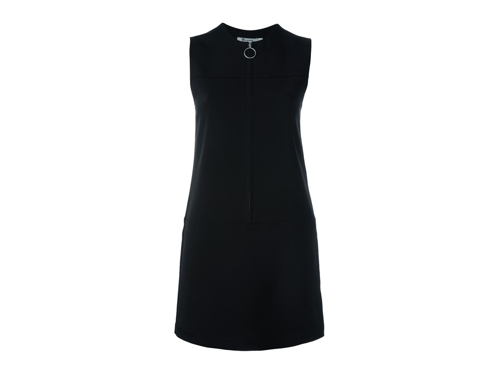 T By Alexander Wang Front Zip Shift Dress