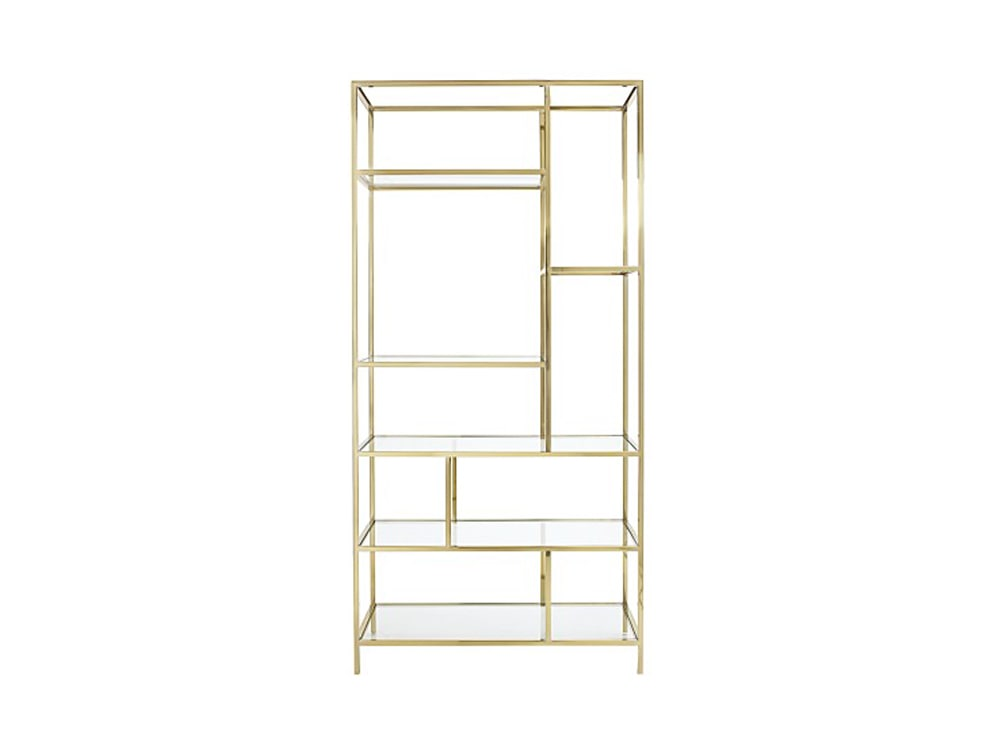 Bloomingdale's Jet Set Etagere Bookshelf