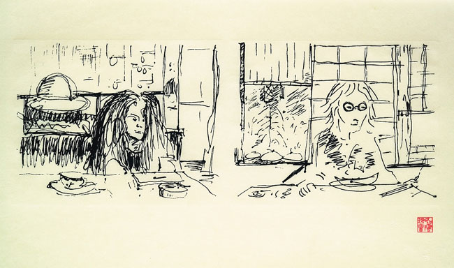 Line Drawing John Lennon : What you ll learn about john lennon from yoko ono s art