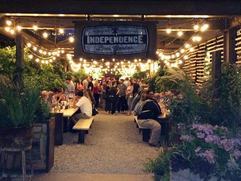 Independence Beer Garden.