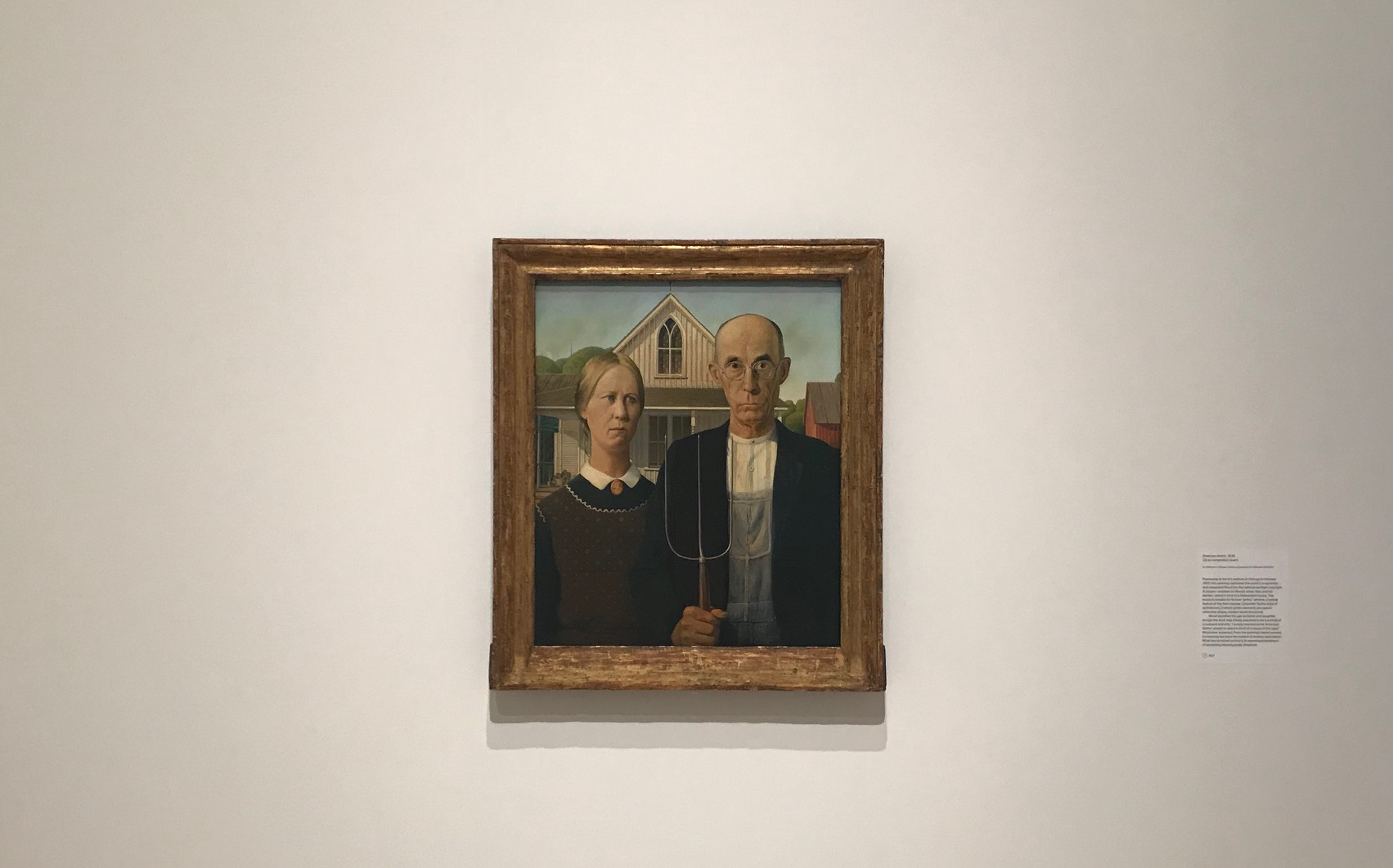 Art Adventures: American Gothic, The American Icon