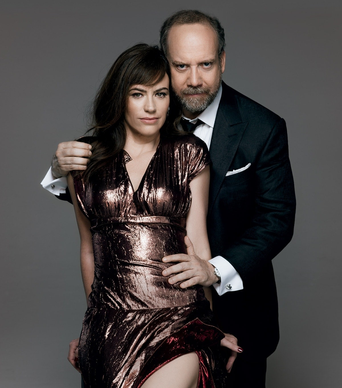 Billions Power Couple Maggie Siff Amp Paul Giamatti On Filming Sex Scenes Amp How They Relax Off
