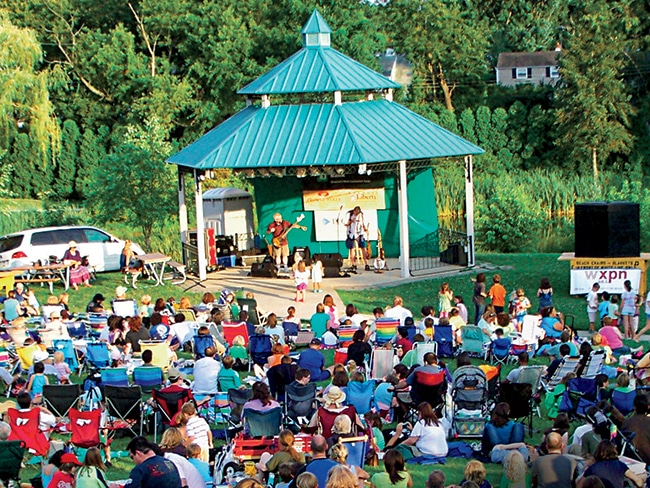 Concert Under the Stars, in Upper Merion, has been a rock, blues, and folk haven on the Main Line for 30 years.