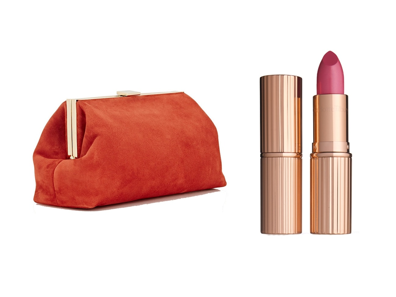 Gorgeous Lipsticks & the Prettiest Clutches to Carry Them in This Valentine's Day