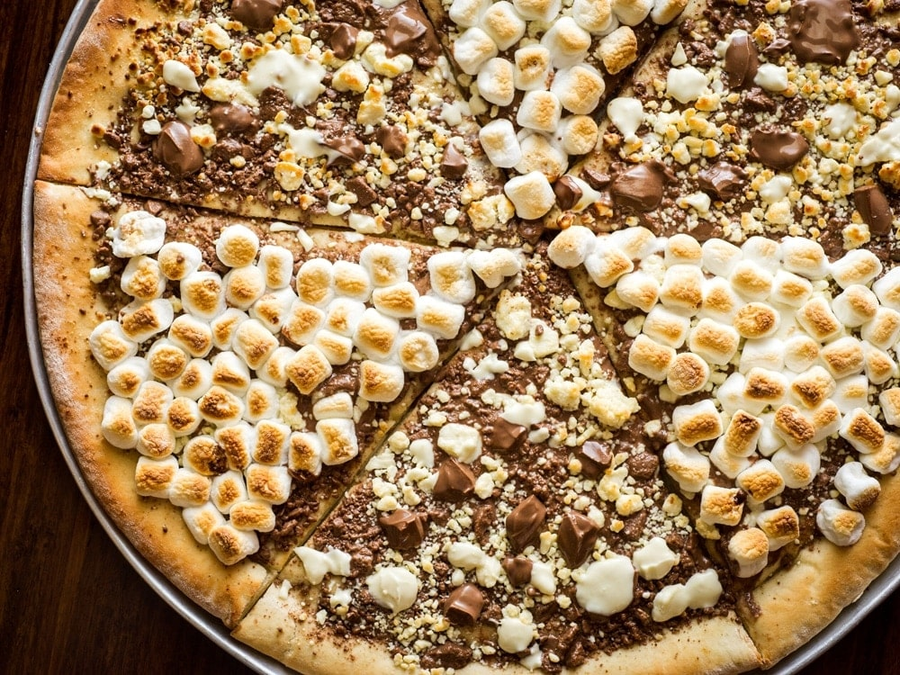 Max Brenner Chocolate Pizza