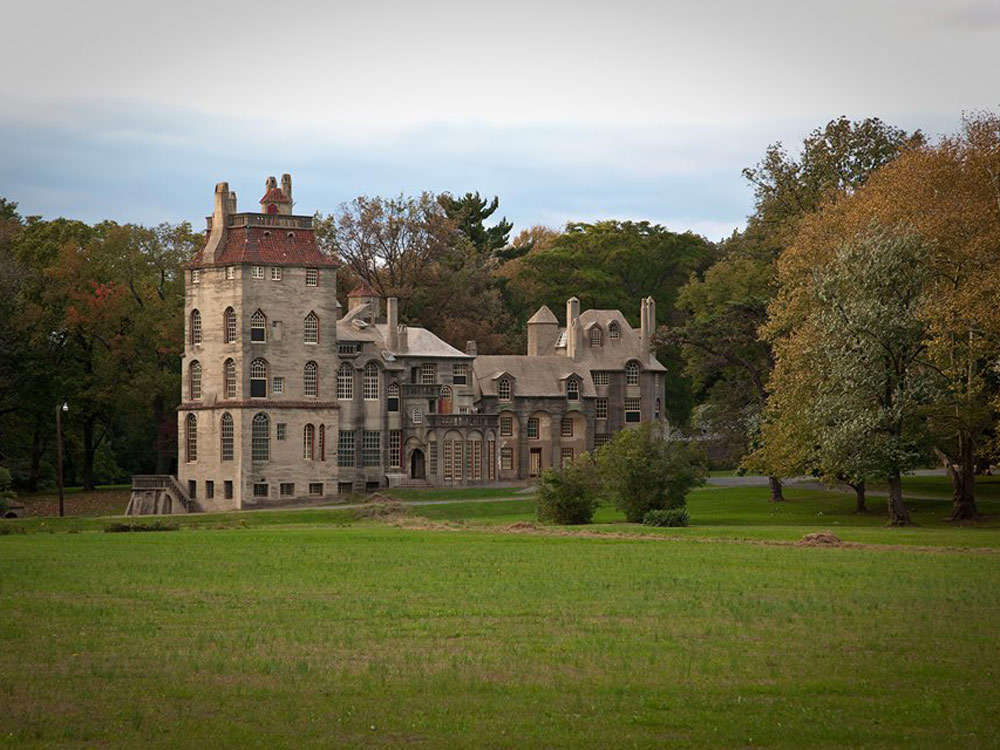 Mercer Museum and Fonthill Castle.