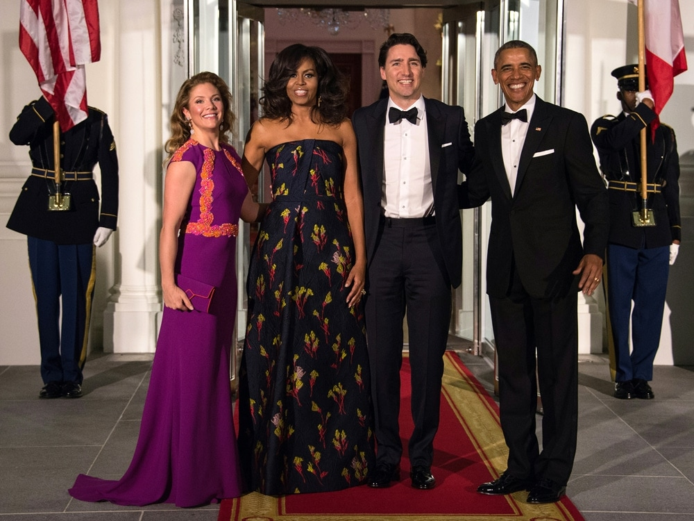 Michelle Obama Jason Wu Strapless Gown