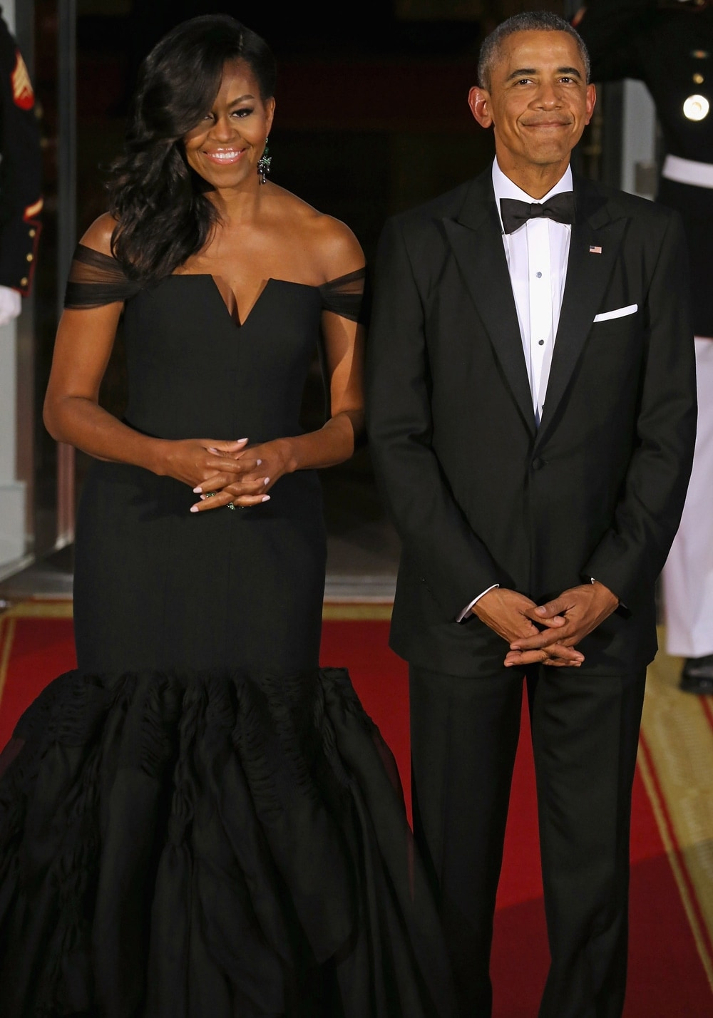 Michelle and Barack Obama 2015 State Dinner