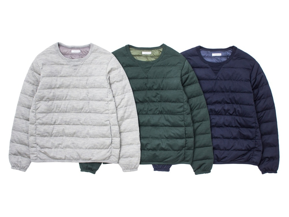 Nanamica pull over.