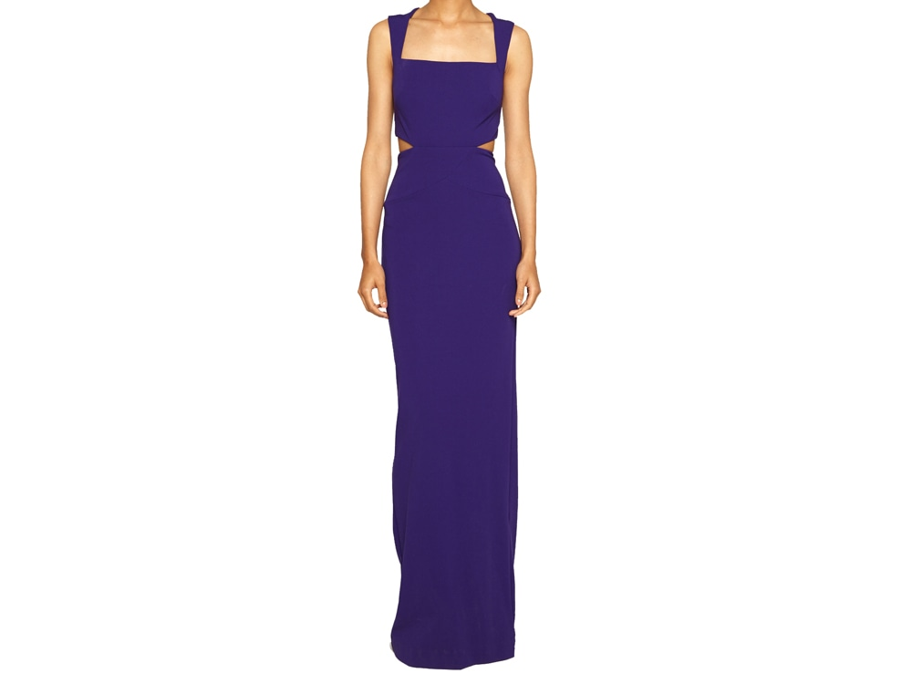 Nicole Miller Queen of the Night Jersey Dress