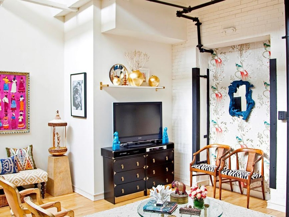 How Colors & Patterns Help an Industrial Philadelphia Loft Come Alive