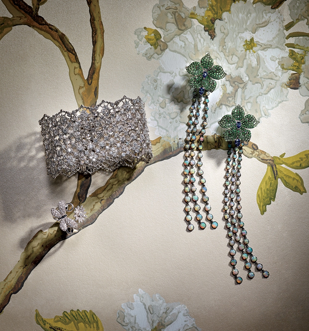How to Wear Spring-Inspired Jewels This Holiday Season
