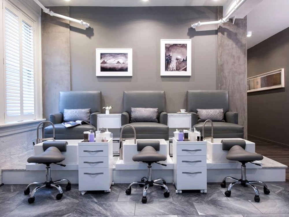 Rescue Spa Philadelphia Manicure Pedicure Chairs