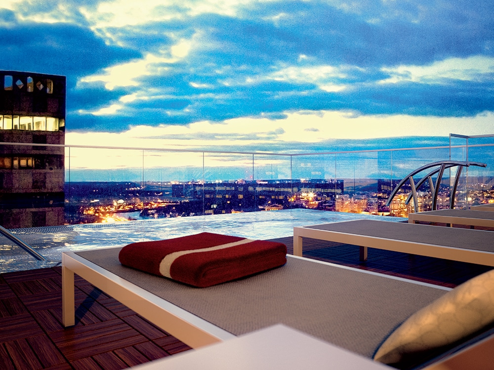 Residential Projects With Amazing Rooftop Swimming Pools