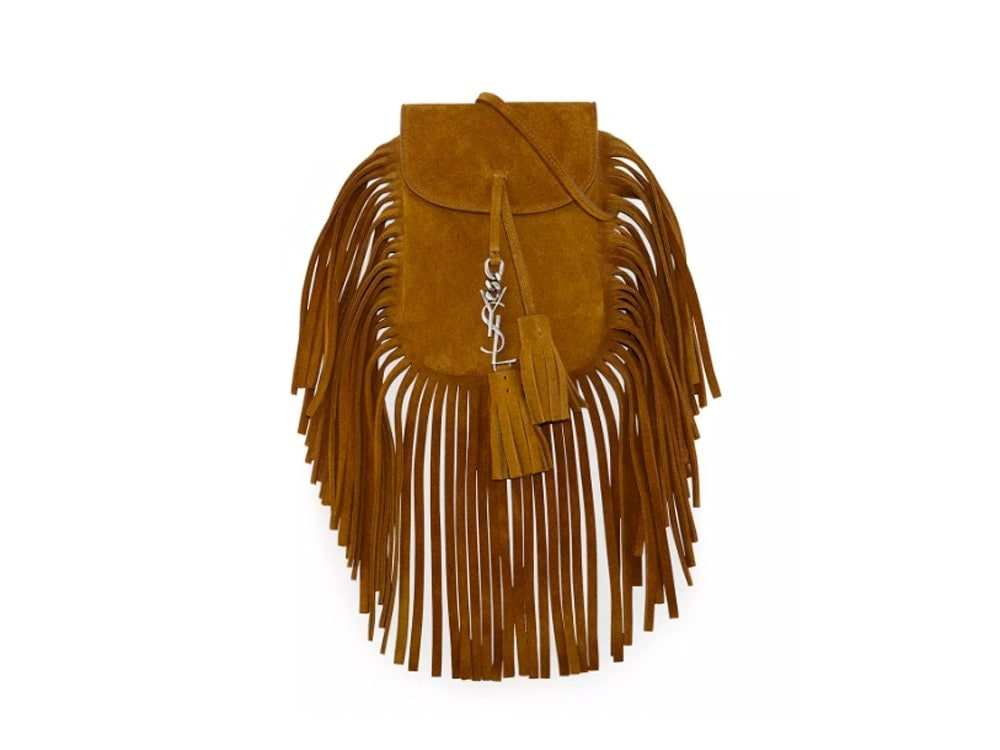 Saint Laurent Fringe Shoulder Bag