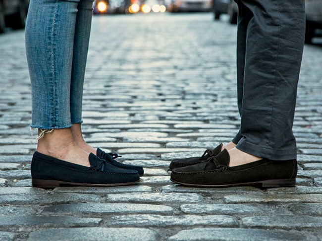 Classic loafers from Jay Butler.