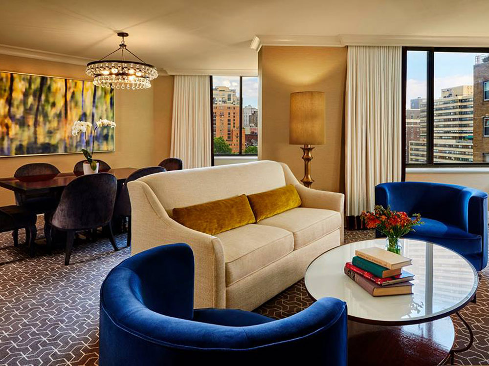 The Rittenhouse Hotel Suite.