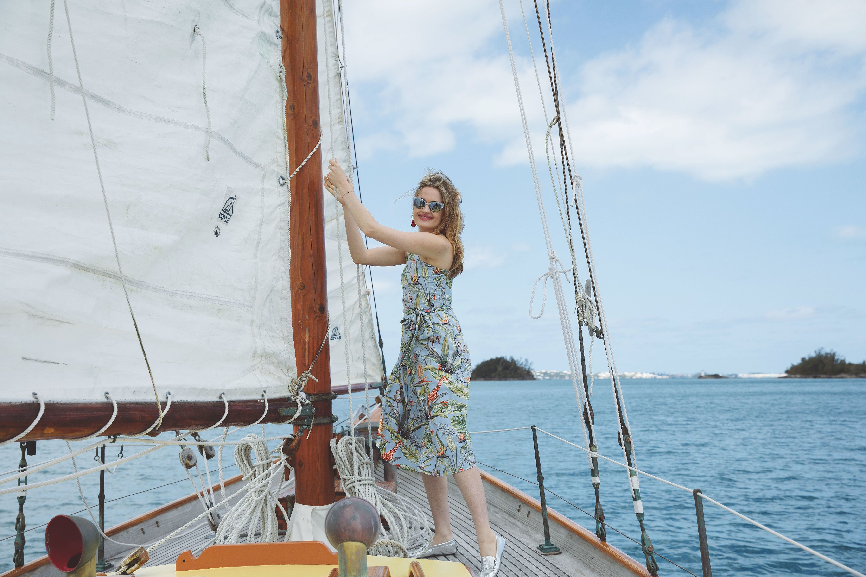 As sailing season commences, a new Bermuda Triangle forms in the Atlantic.