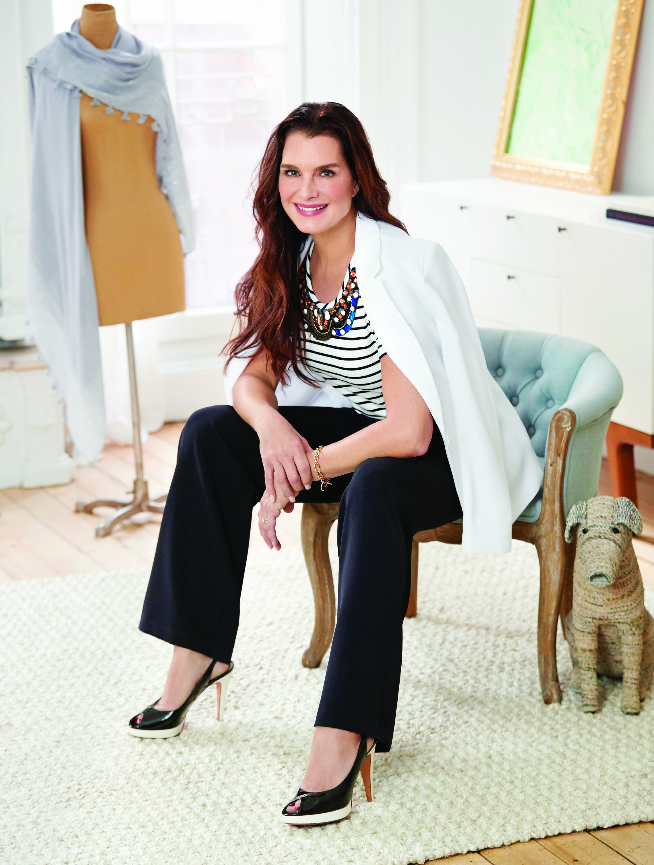 8f528569353 Brooke Shields Shares Her Wardrobe Essentials and Why Philadelphia ...