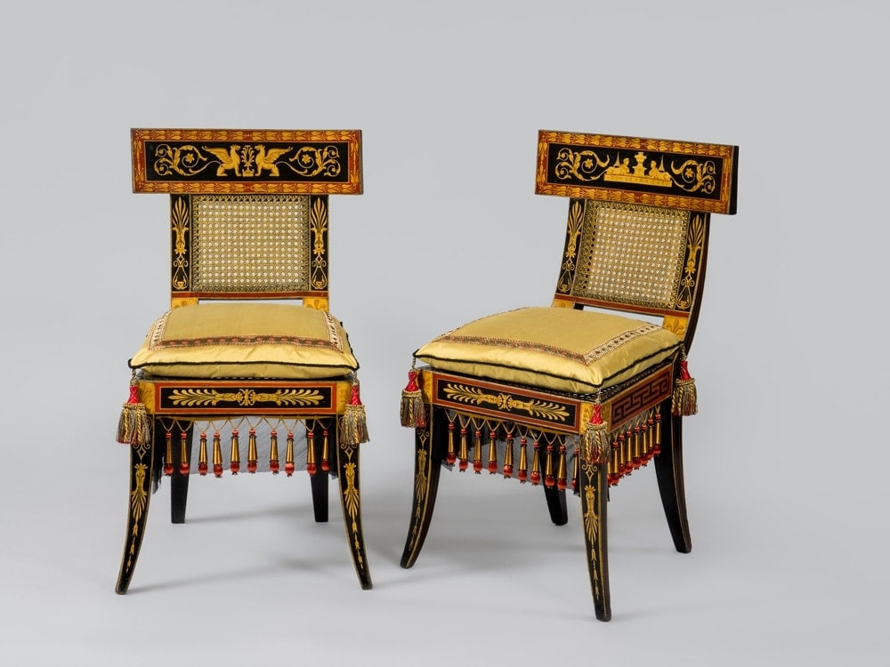phili museum chairs.