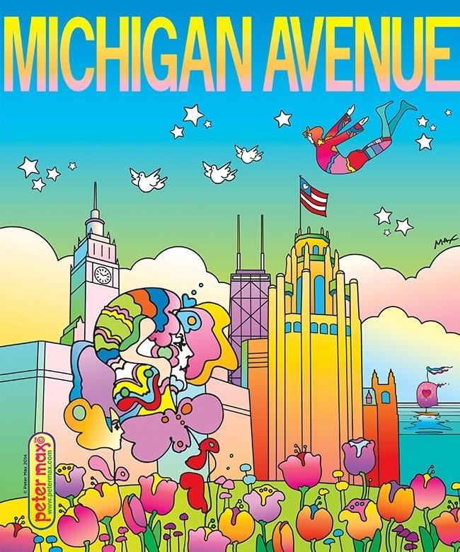 4 - Own a Piece of Peter Max Art & Give Back