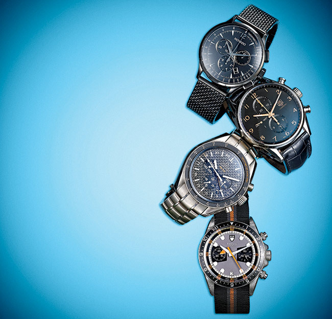 1 - 4 Chronographs for Summer Activities