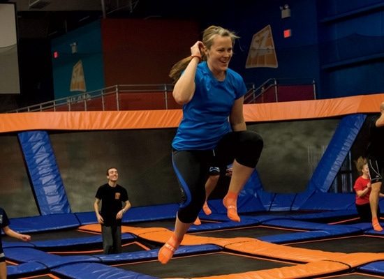 1 - Spring Forward with Trampoline Workout Classes