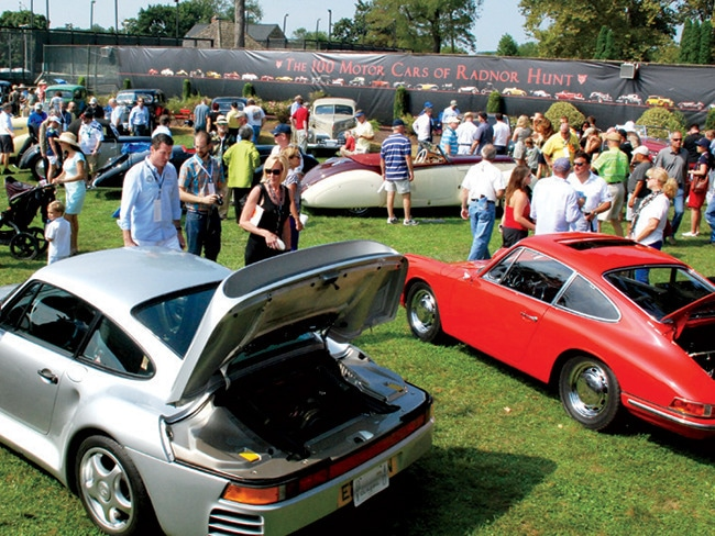 2 - Car Aficionados Flock to the Radnor Hunt C…