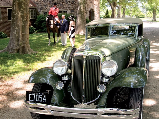1 - Car Aficionados Flock to the Radnor Hunt C…