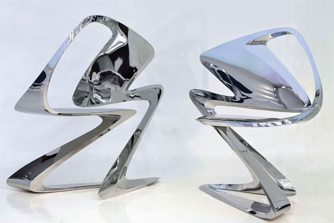 3 - New Exhibit: The Fantastical Works of Zaha Hadid