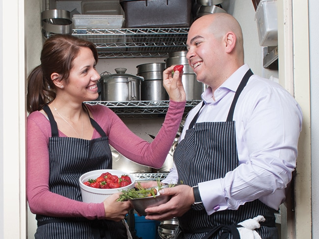 1 - Le Bec-Fin Couple Reveals Recipe for Success