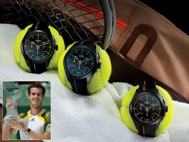 1 - Andy Murray Keeps Time with Rado