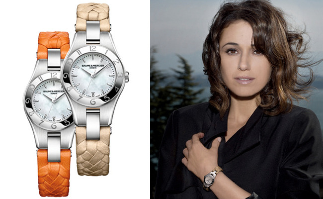 1 - Emmanuelle Chriqui Designs Baume & Mercier…