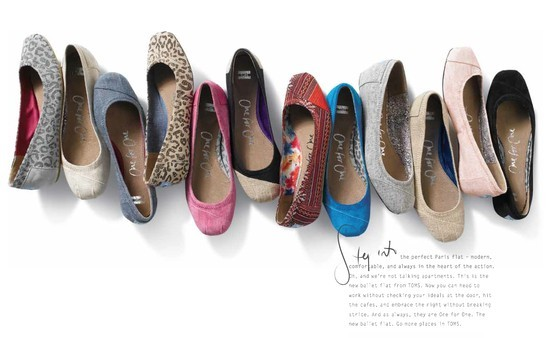 1 - Style News: TOMS Launches a Line of Ballet Flats