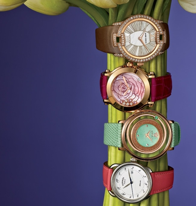 1 - Floral Watches Nod to the Flower Show